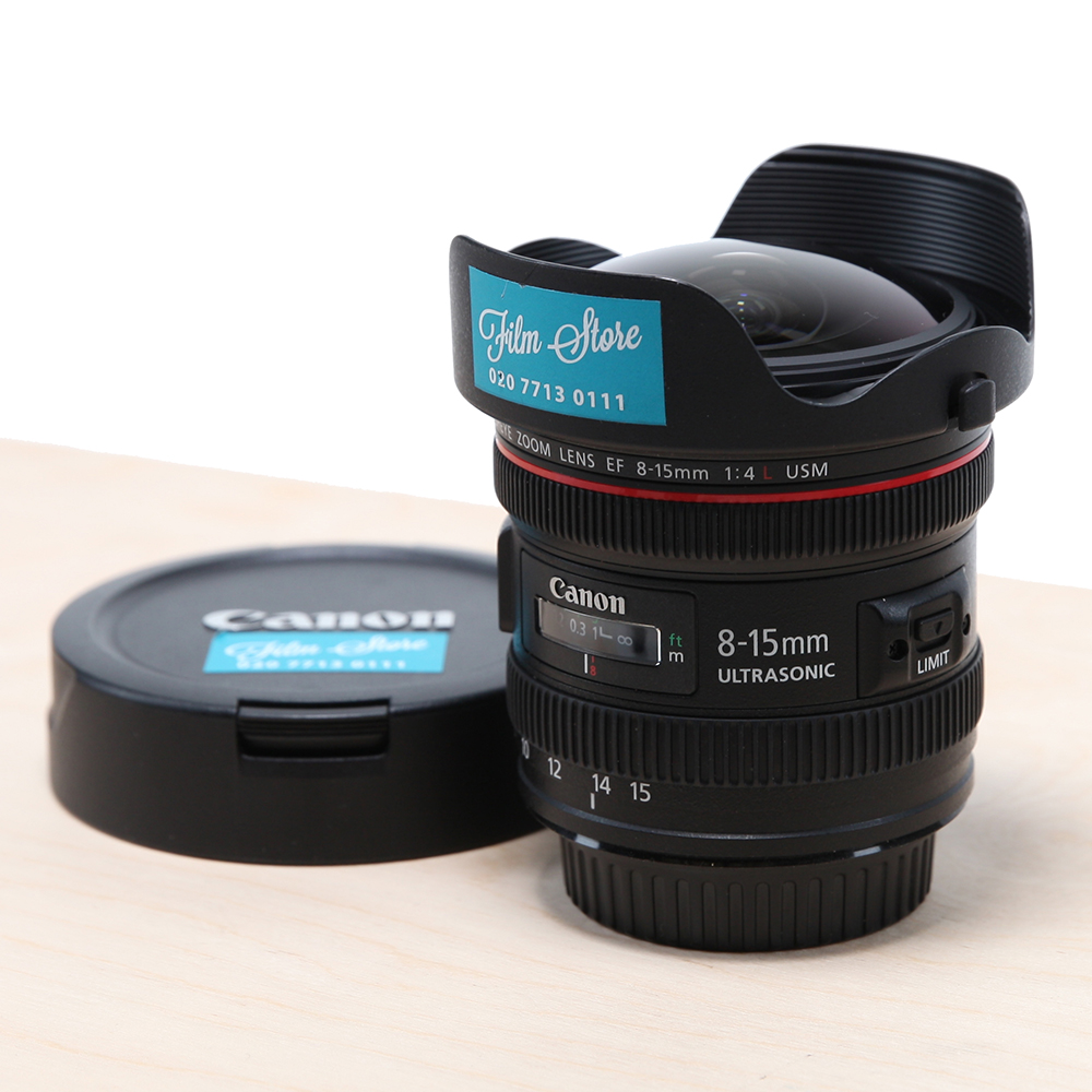 Canon EF 8-15mm Fisheye f/4L Lens | Direct Digital