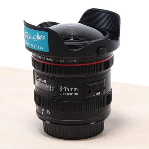 Canon EF 8-15mm Fisheye