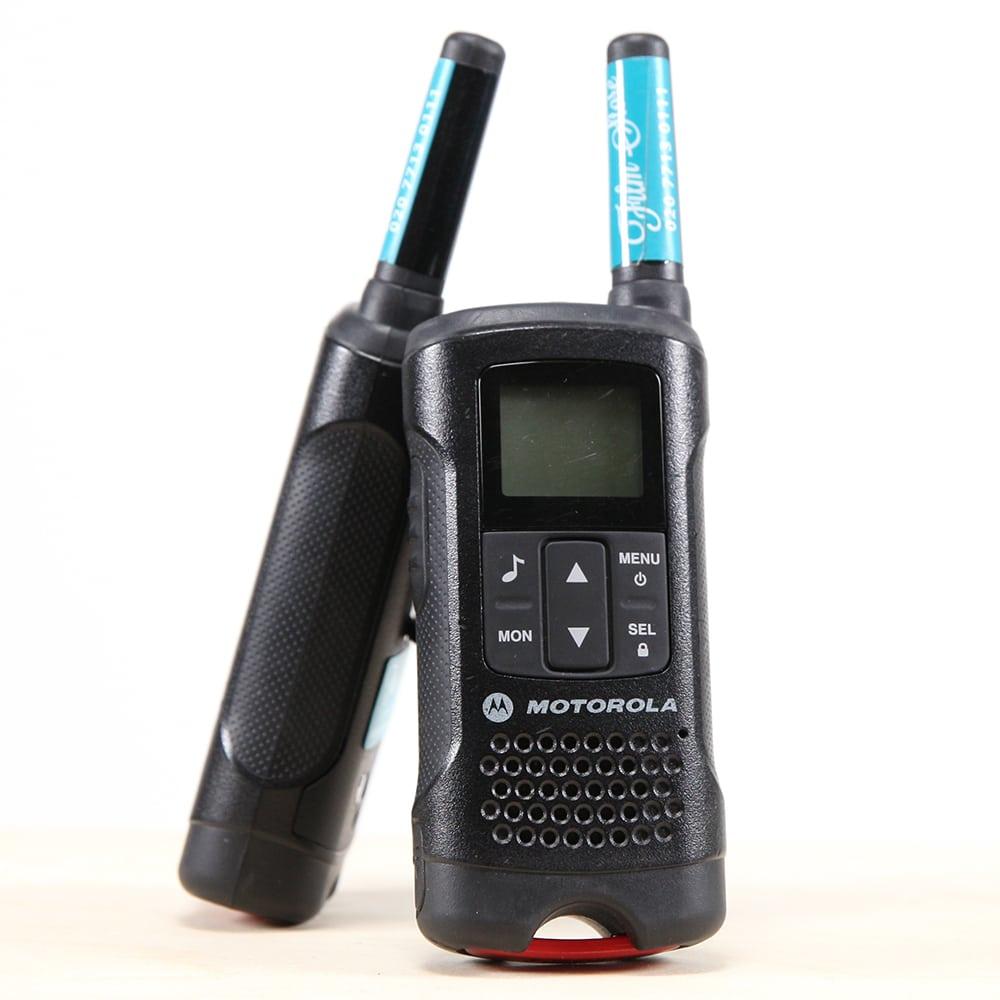 motorola walkie talkies film store rental. Black Bedroom Furniture Sets. Home Design Ideas